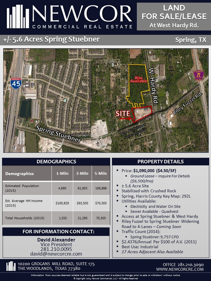 5.61 Acres - Spring Stuebner Flyer Pg. 1
