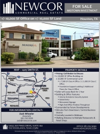 Midtown Office For Sale or Lease