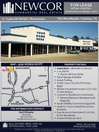 Retail / Showroom For Lease