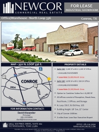 Conroe Office/Warehouse - Loop 336
