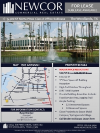 Class A Office Sublease