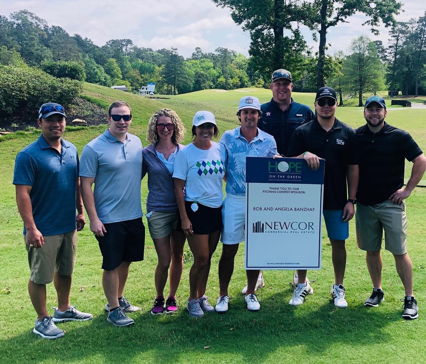Hope on The Green 4.8.19 Newcor Team Sponsor