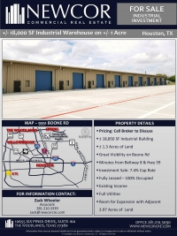 Industrial Investment For Sale