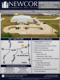 +/- 32K SF Office/Industrial Warehouse